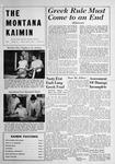 The Montana Kaimin, April 8, 1949