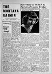 The Montana Kaimin, May 25, 1949