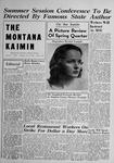 The Montana Kaimin, June 2, 1949