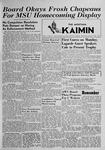 The Montana Kaimin, October 5, 1949