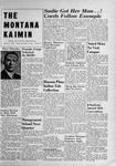 The Montana Kaimin, November 15, 1949