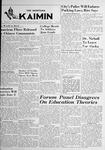 The Montana Kaimin, May 9, 1950