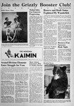 The Montana Kaimin, November 3, 1950