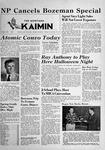 The Montana Kaimin, October 19, 1951