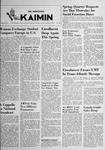 The Montana Kaimin, March 4, 1952