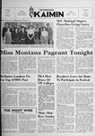 The Montana Kaimin, April 25, 1952