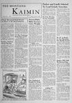 The Montana Kaimin, October 13, 1955