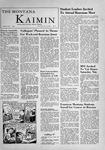 The Montana Kaimin, November 3, 1955