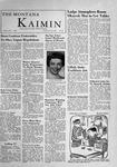 The Montana Kaimin, November 22, 1955