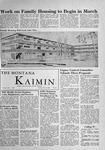 The Montana Kaimin, November 29, 1955