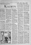 The Montana Kaimin, November 30, 1955