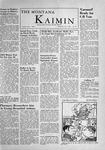 The Montana Kaimin, December 7, 1955