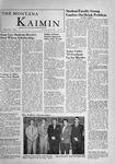 The Montana Kaimin, December 8, 1955