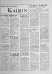 The Montana Kaimin, January 20, 1956