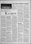 The Montana Kaimin, February 24, 1956