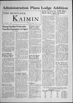 The Montana Kaimin, March 7, 1956