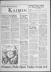 The Montana Kaimin, April 25, 1956