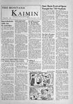 The Montana Kaimin, May 10, 1956