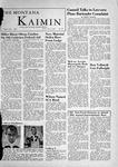 The Montana Kaimin, May 11, 1956