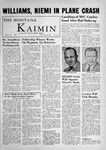 The Montana Kaimin, May 25, 1956 by Associated Students of Montana State University