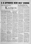 The Montana Kaimin, June 1, 1956 by Associated Students of Montana State University