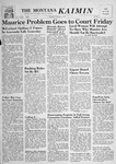 The Montana Kaimin, October 4, 1956 by Associated Students of Montana State University
