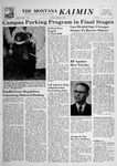 The Montana Kaimin, October 5, 1956 by Associated Students of Montana State University