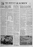 The Montana Kaimin, October 12, 1956 by Associated Students of Montana State University