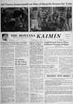 The Montana Kaimin, November 6, 1956 by Associated Students of Montana State University