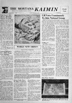 The Montana Kaimin, November 9, 1956 by Associated Students of Montana State University