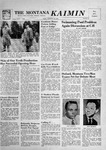 The Montana Kaimin, November 16, 1956 by Associated Students of Montana State University