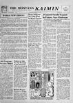 The Montana Kaimin, December 12, 1956 by Associated Students of Montana State University