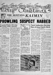 The Montana Kaimin, December 14, 1956 by Associated Students of Montana State University
