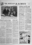 The Montana Kaimin, January 16, 1957