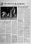 The Montana Kaimin, January 22, 1957