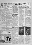The Montana Kaimin, January 23, 1957