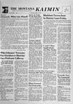 The Montana Kaimin, January 24, 1957