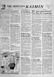 The Montana Kaimin, February 5, 1957