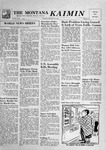 The Montana Kaimin, February 28, 1957