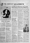 The Montana Kaimin, March 6, 1957