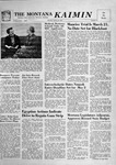 The Montana Kaimin, March 12, 1957