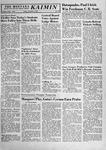 The Montana Kaimin, November 1, 1957