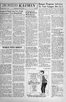 The Montana Kaimin, November 14, 1957