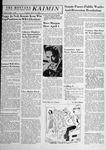 The Montana Kaimin, March 13, 1958