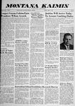 Montana Kaimin, April 4, 1958