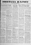 Montana Kaimin, April 8, 1958