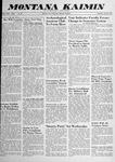 Montana Kaimin, April 10, 1958