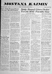 Montana Kaimin, April 15, 1958