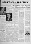 Montana Kaimin, April 17, 1958