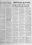 Montana Kaimin, April 24, 1958